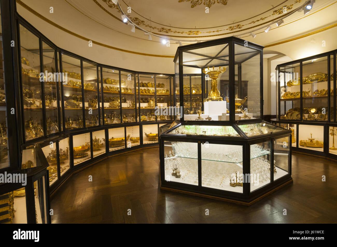 Elegant Austria, Vienna, Hofburg Imperial Palace, Imperial Apartments, Court  Tableware