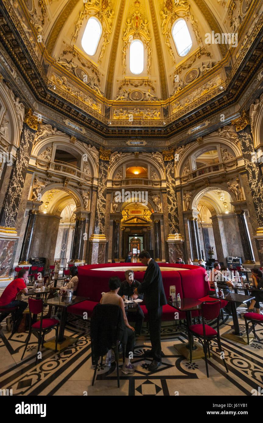 Austria Vienna Kunsthistorisches Fine Arts Museum Dining Room