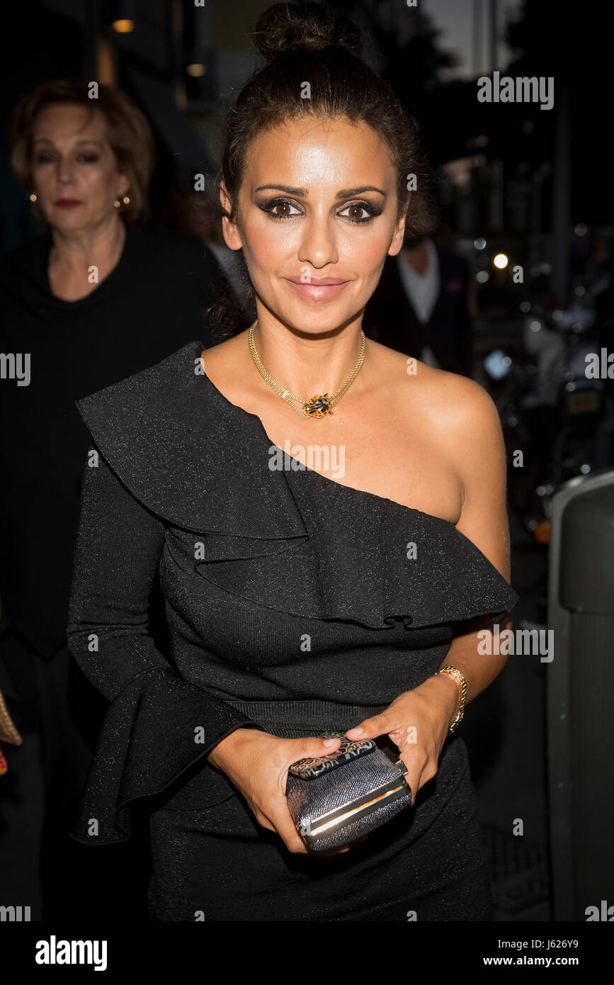 Actress Mónica Cruz during Cartier party in Madrid on Thursday 18 May 2017. - Stock Image