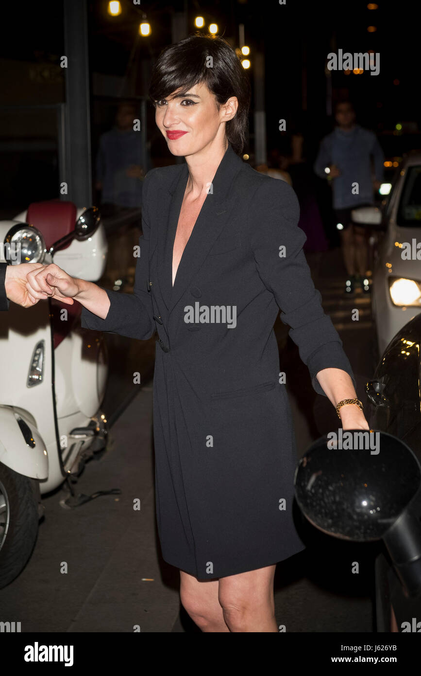 Actress Paz Vega during Cartier party in Madrid on Thursday 18 May 2017. - Stock Image