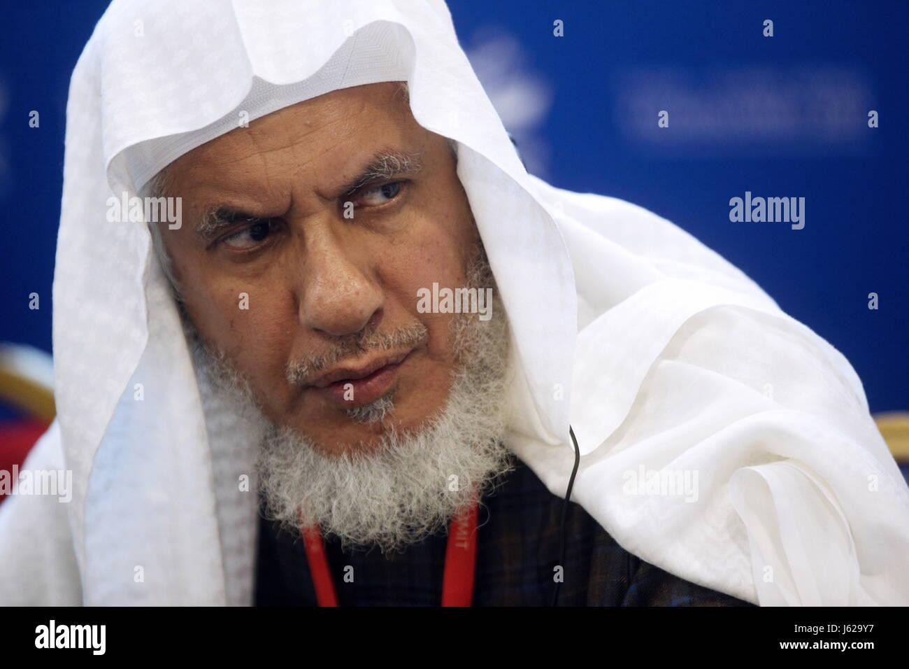Kazan, Russia. 18th May, 2017. Abdurrahman bin Salih Al-Atram, Secretary General of the World Islamic Foundation Stock Photo
