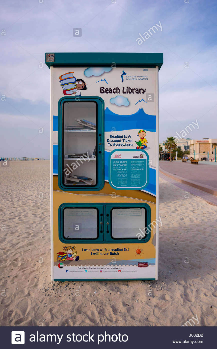 """The Beach Library initiative"""" was launch by Dubai"""