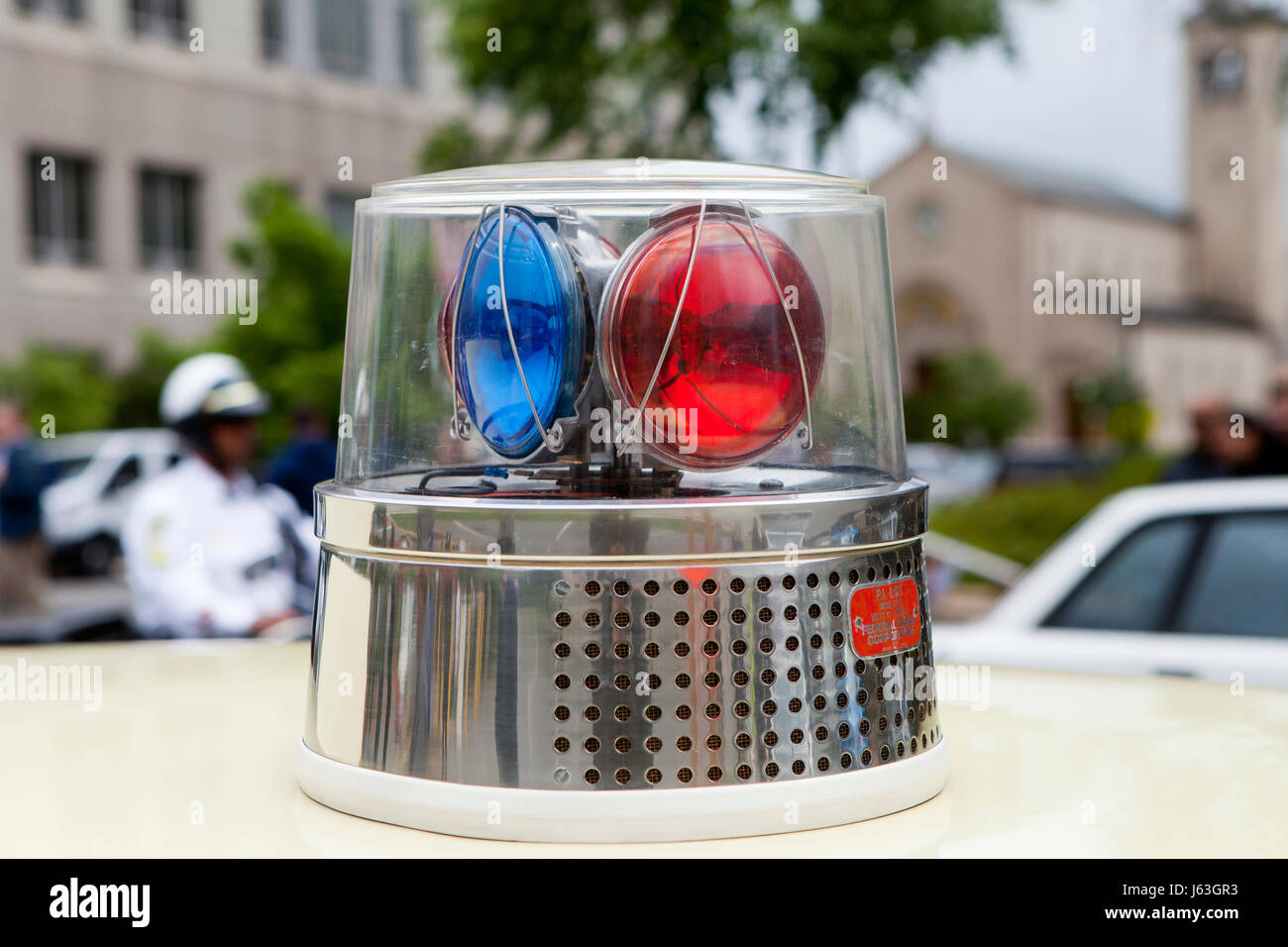 vintage police car stock photos vintage police car stock images alamy. Black Bedroom Furniture Sets. Home Design Ideas