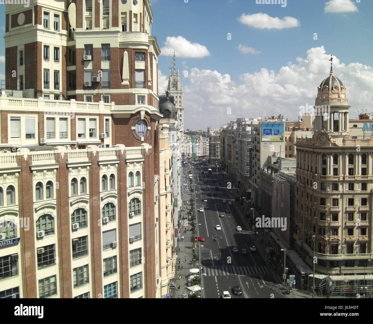 city town townscape sight view outlook perspective vista panorama lookout city Stock Photo