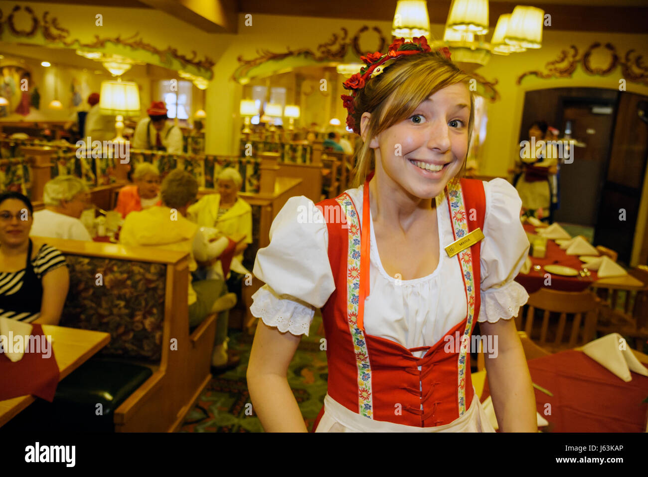 Michigan Frankenmuth Bavarian Inn Restaurant German Ethnic