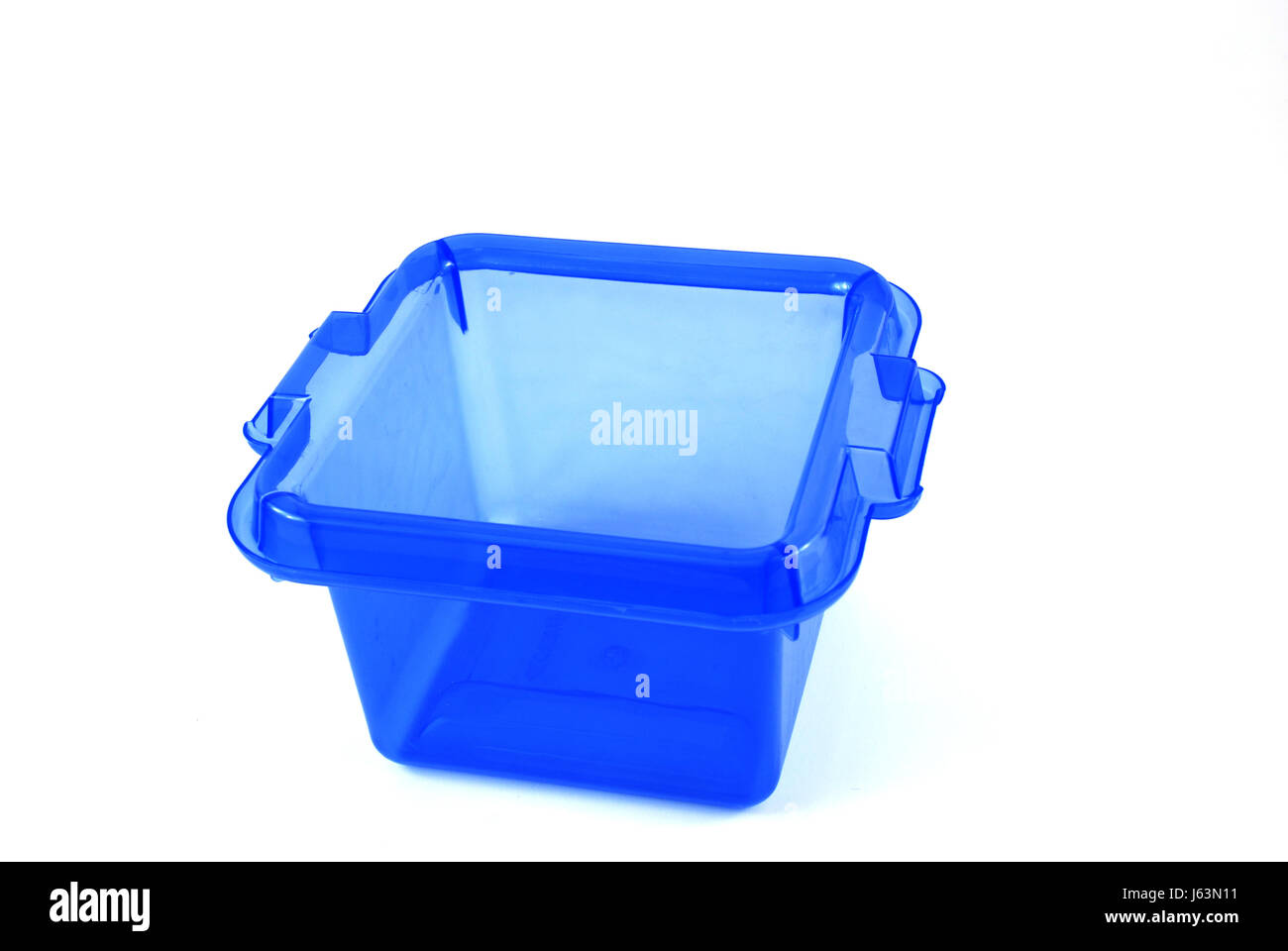blue plastic synthetic material container box bath tub tub bathtub ...