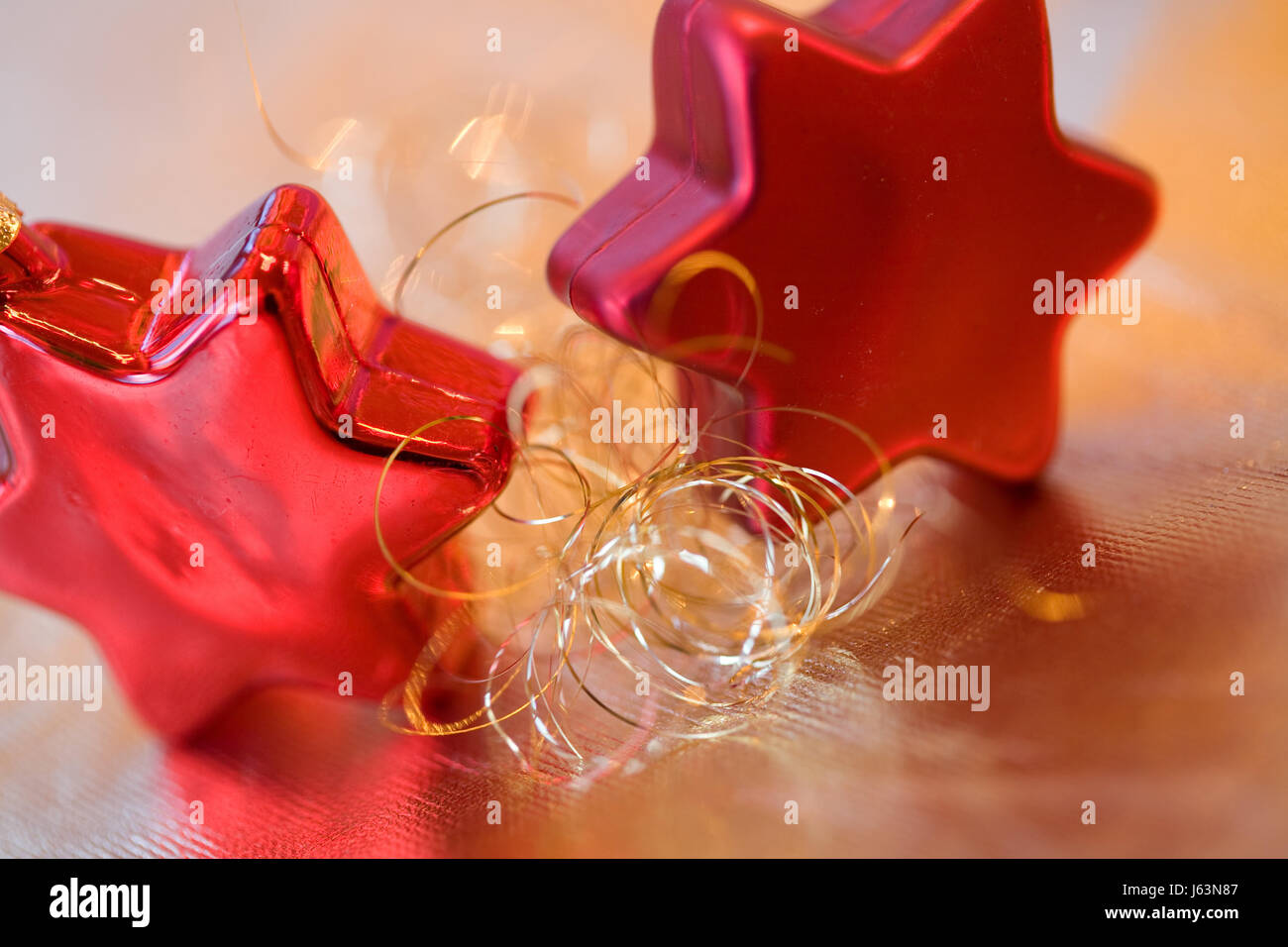 deco christmas tree decorations angel hair christmas decoration christmas xmas stock image - Angel Hair Christmas Decoration
