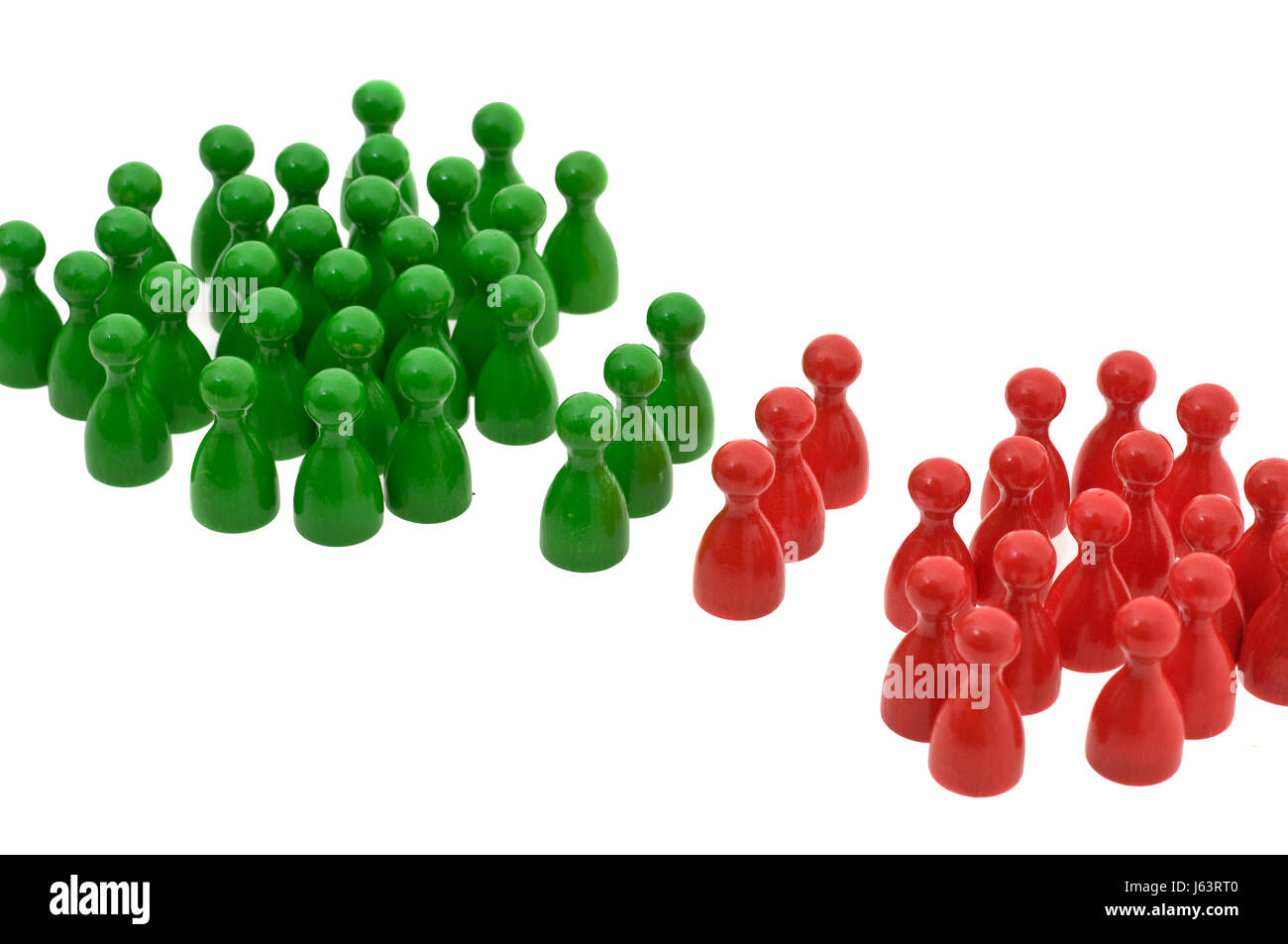 model design project concept plan draft conflict cooperator integration team - Stock Image