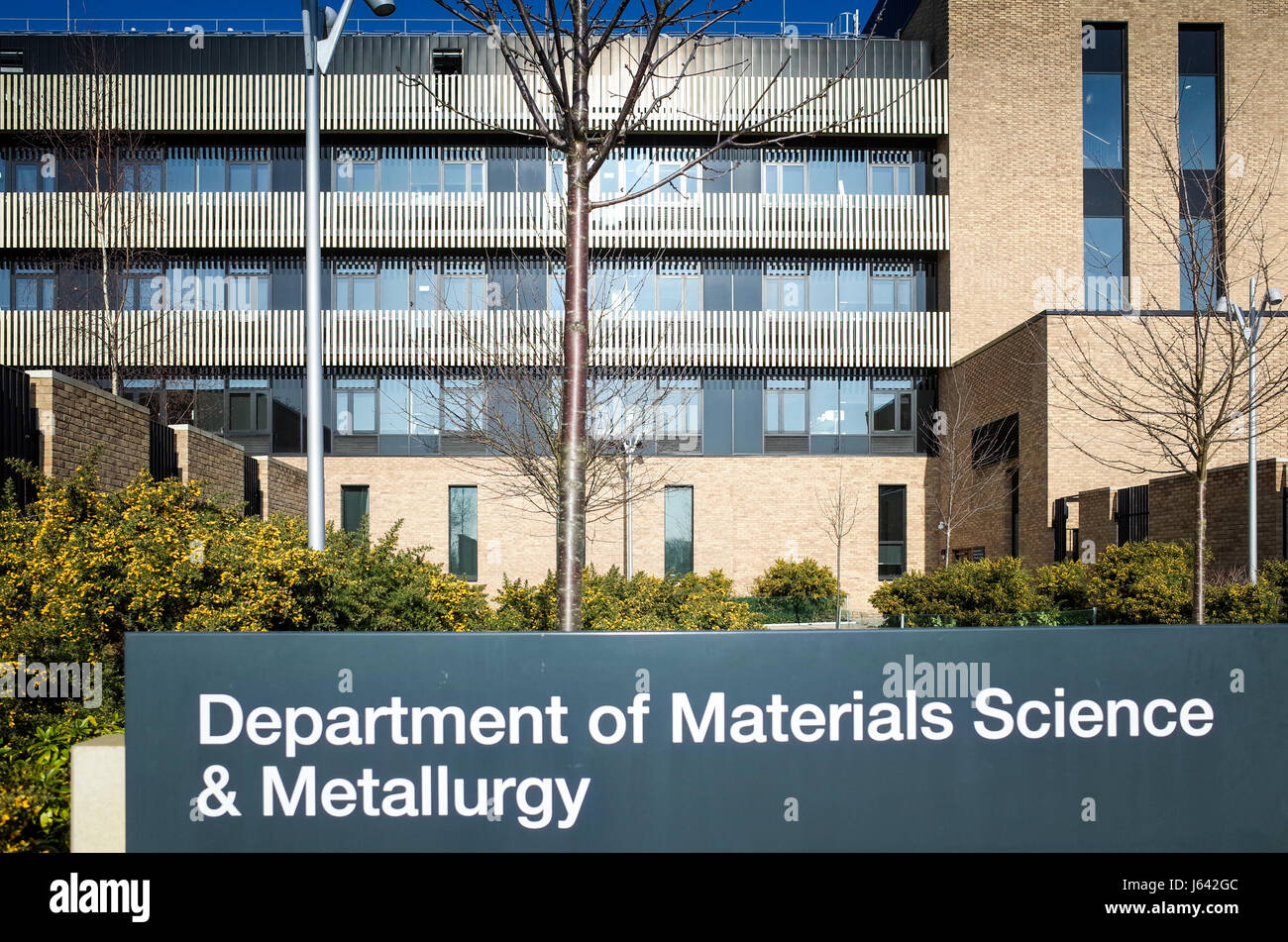 Department of Materials Science building (2013) on the West Cambridge site of the University of Cambridge, Cambridge, - Stock Image