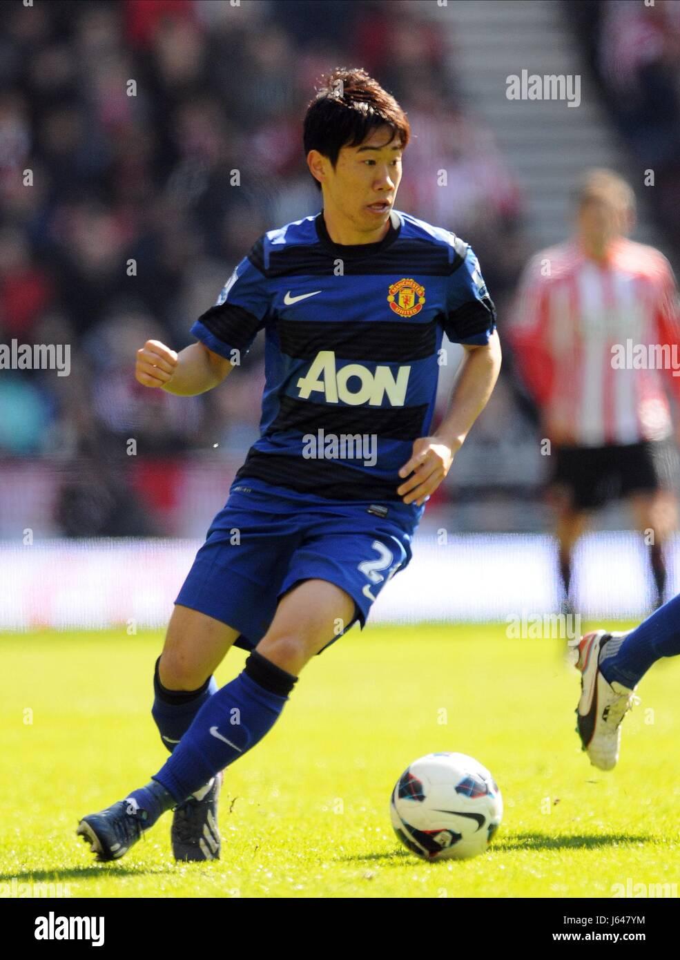 SHINJI KAGAWA MANCHESTER UNITED FC STADIUM OF LIGHT SUNDERLAND ENGLAND 30 March 2013 - Stock Image