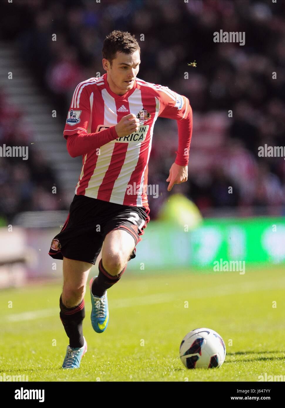 ADAM JOHNSON SUNDERLAND FC STADIUM OF LIGHT SUNDERLAND ENGLAND 30 March 2013 - Stock Image