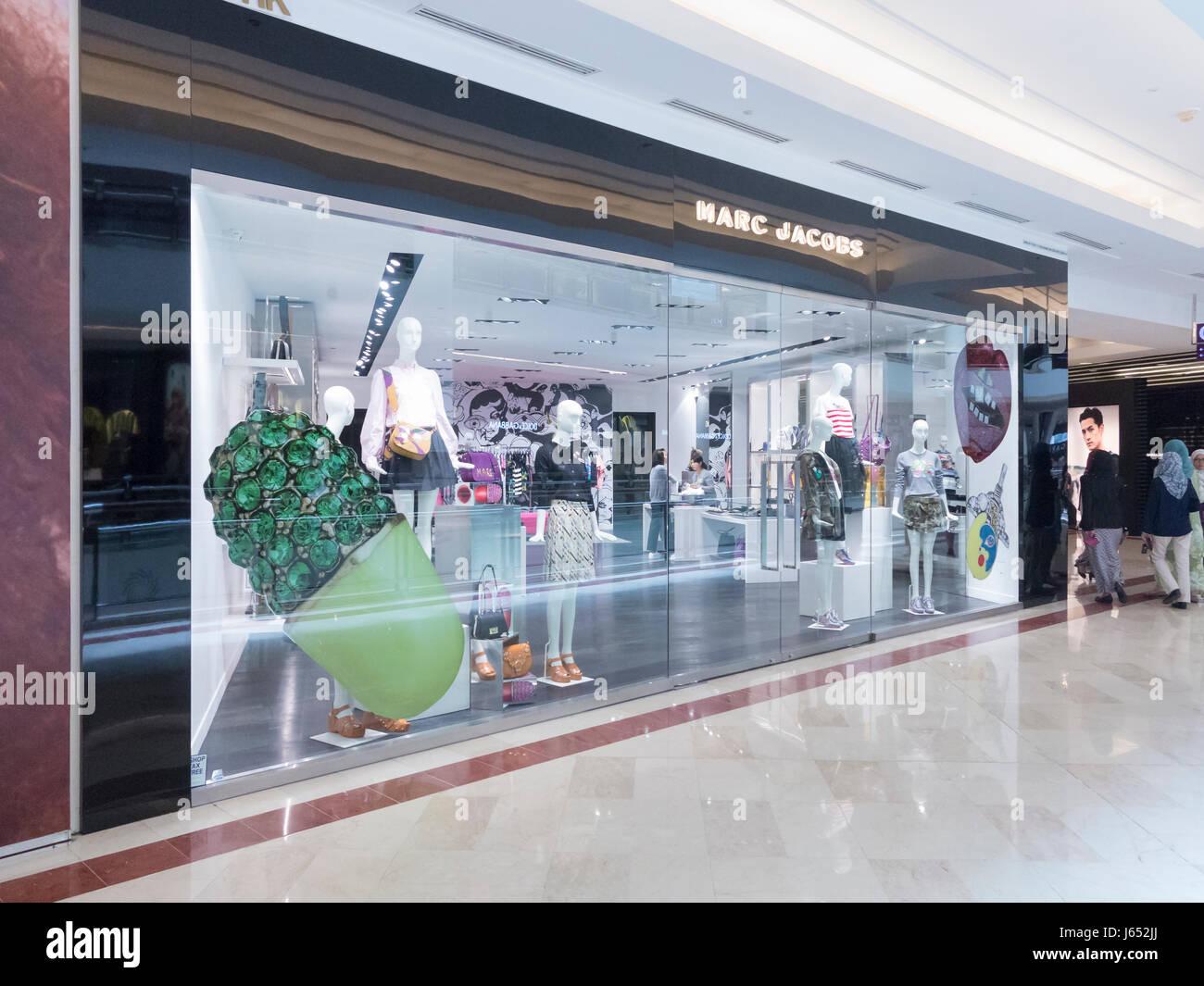 official photos dab05 4ba24 Marc Jacobs shop, Malaysia Stock Photo: 141482730 - Alamy