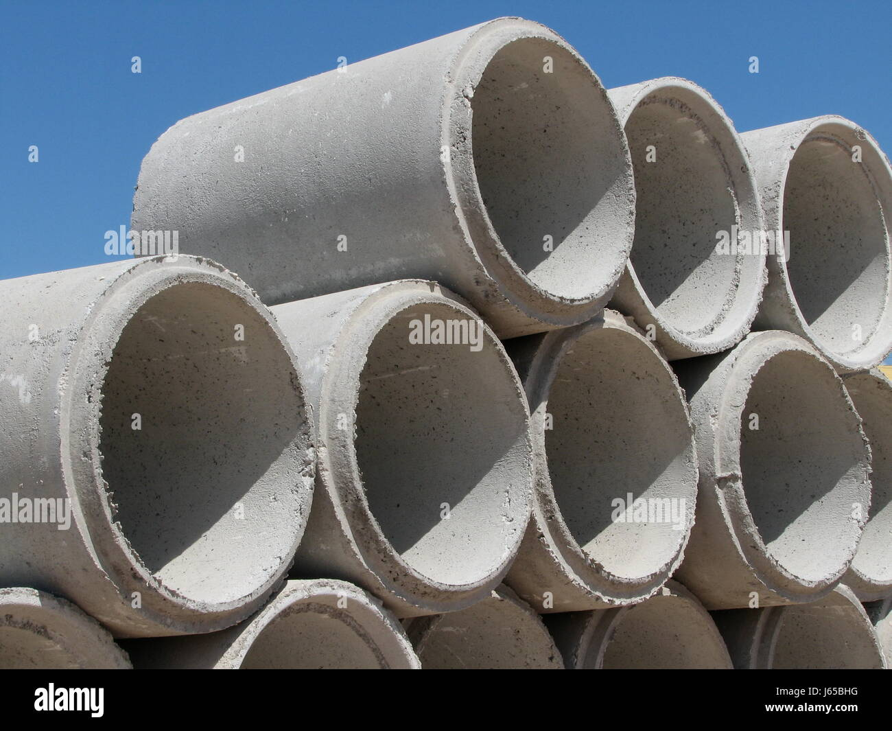 Concrete Tube Construction Industry Piping Construction Site Stone Stock Photo Alamy