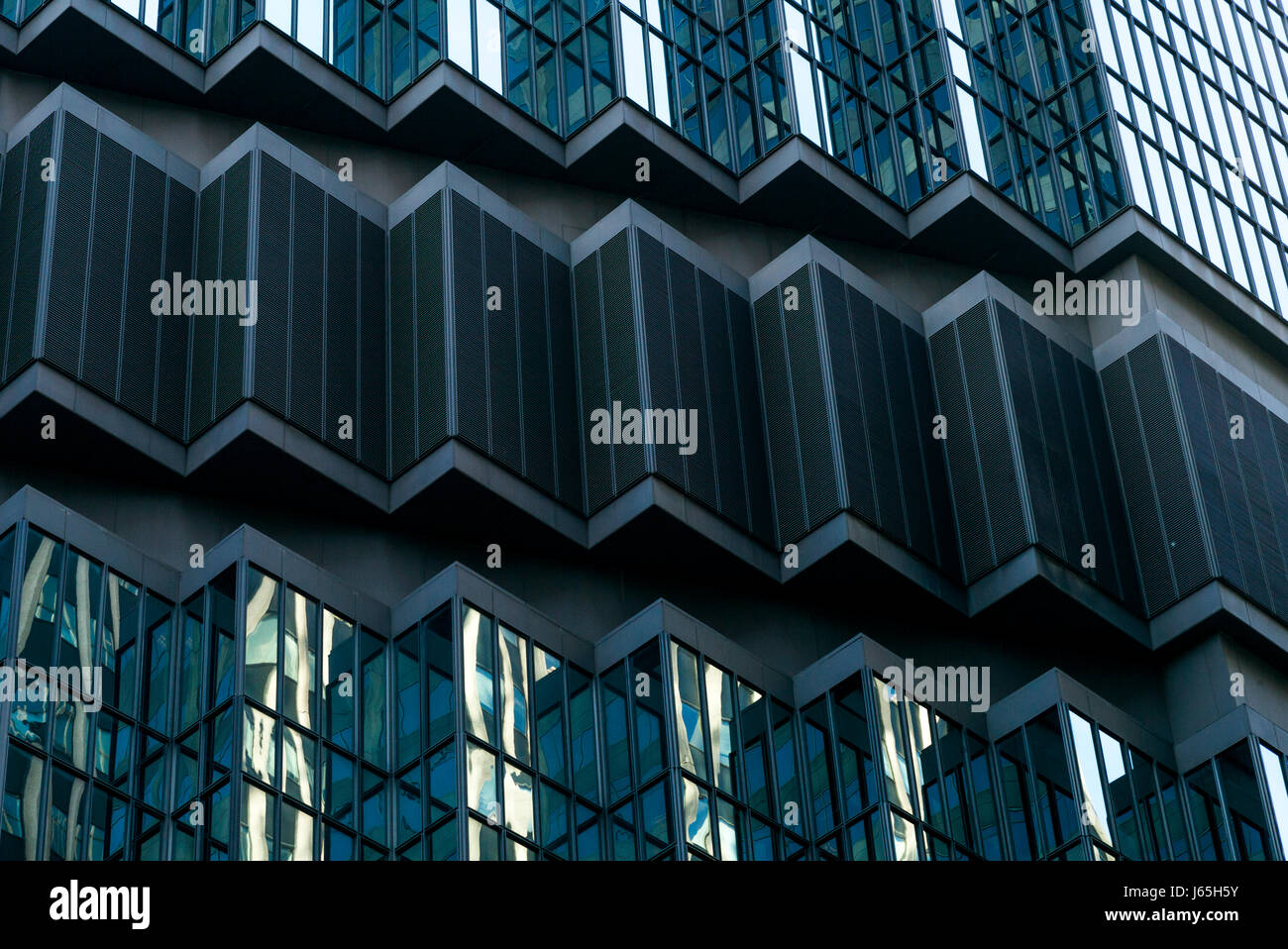 IDS Center tower at Downtown Minneapolis, Hennepin County, Minnesota, USA - Stock Image