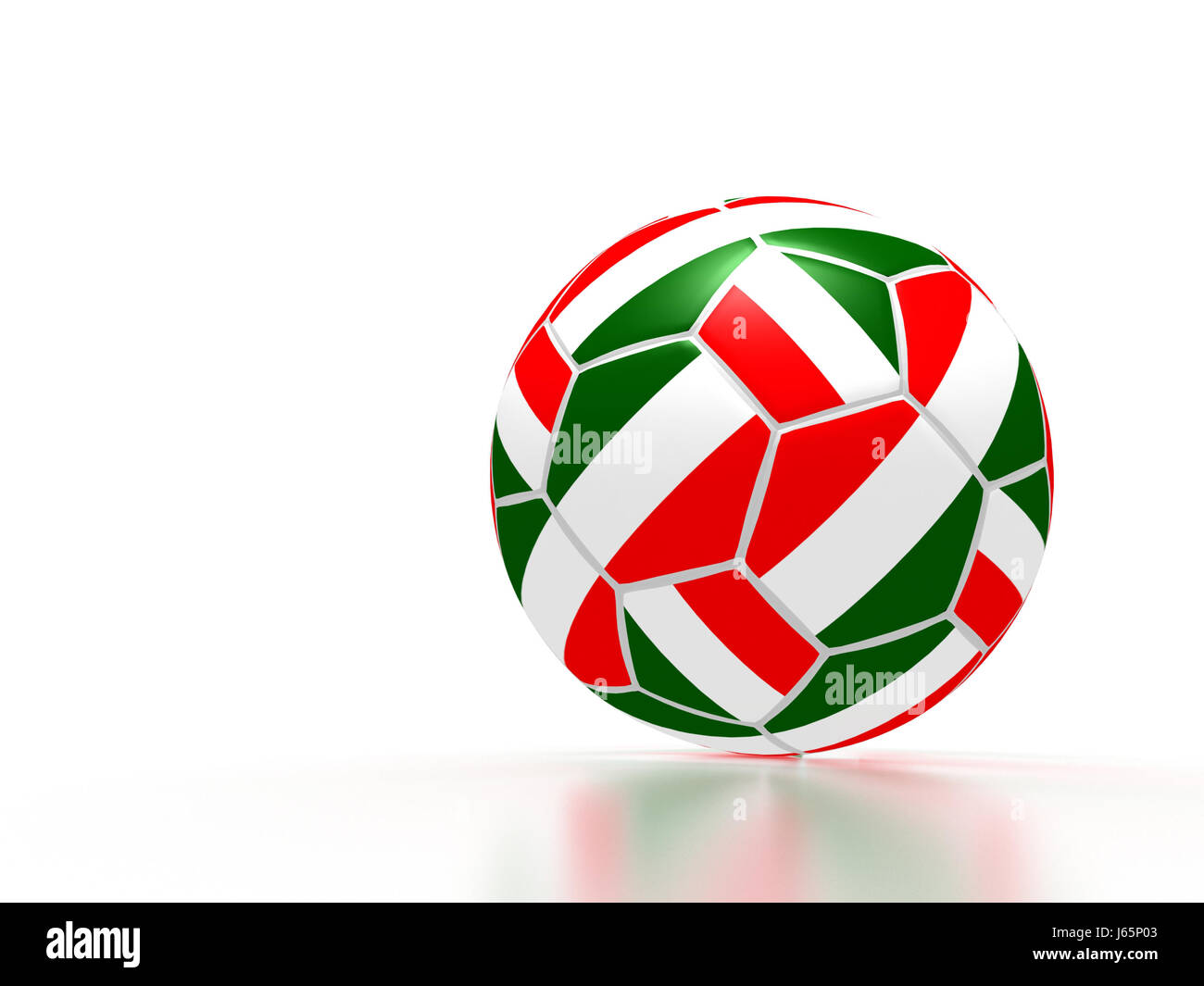soccer italy - Stock Image