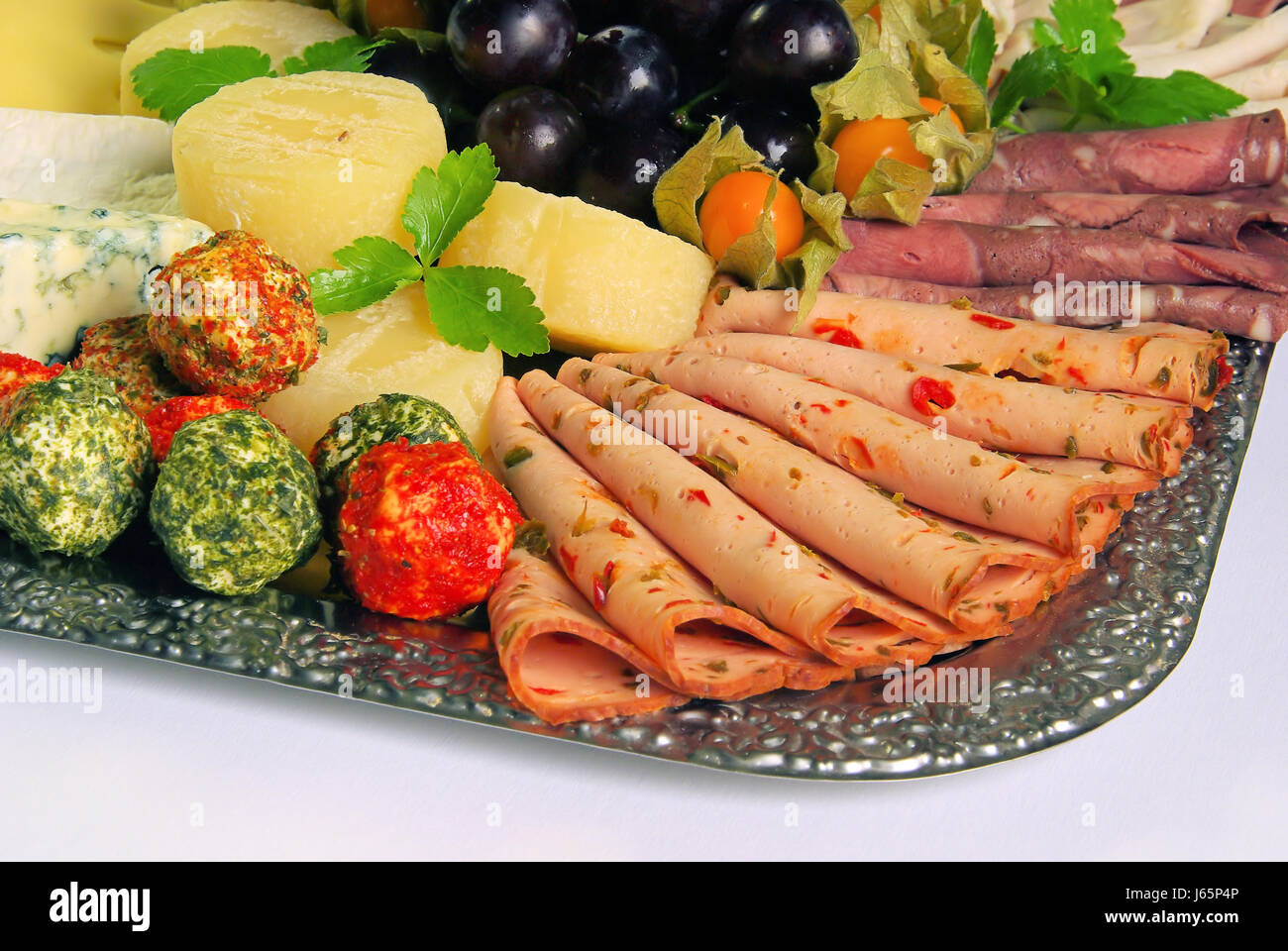 banquet sideboard buffet snack salad cold disc party celebration ...