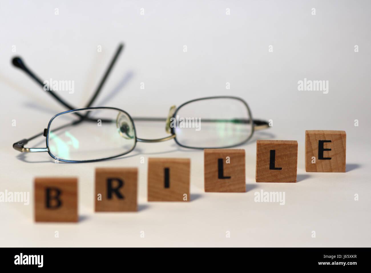 farsightedness Stock Photo