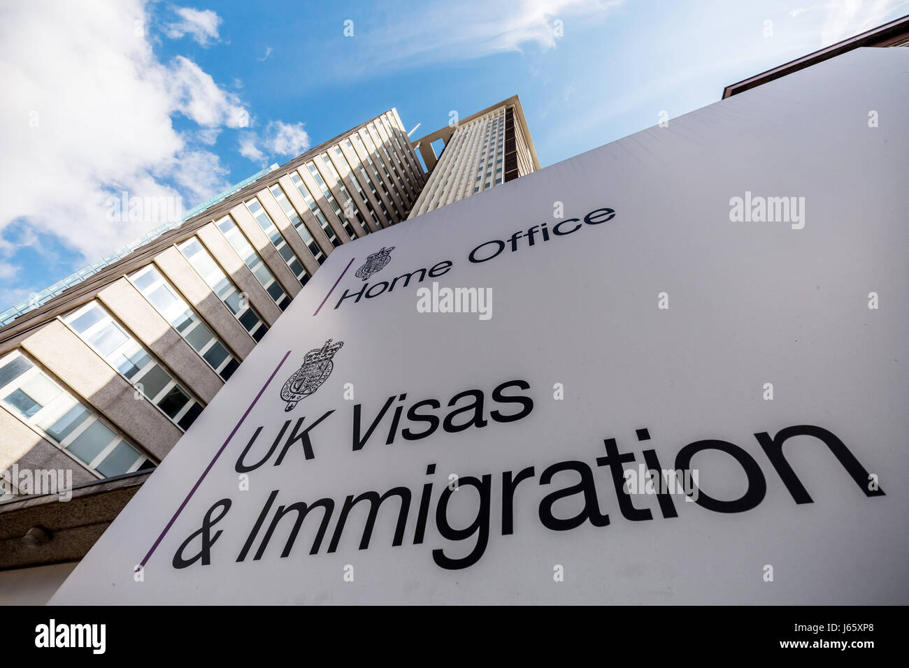 The home office uk visas immigration office at lunar house in stock photo 141501648 alamy - London immigration office ...