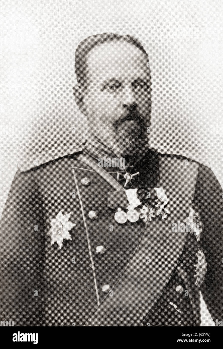 Count Sergei Yulyevich Witte, 1849  – 1915, aka  Sergius Witte.  Highly influential econometrician, minister, and - Stock Image