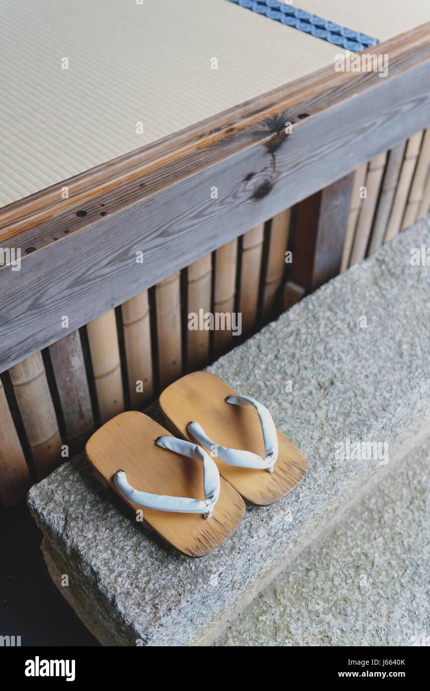 08d57f45f7f53 Japan Kyoto Shoes Footwear Stock Photos   Japan Kyoto Shoes Footwear ...
