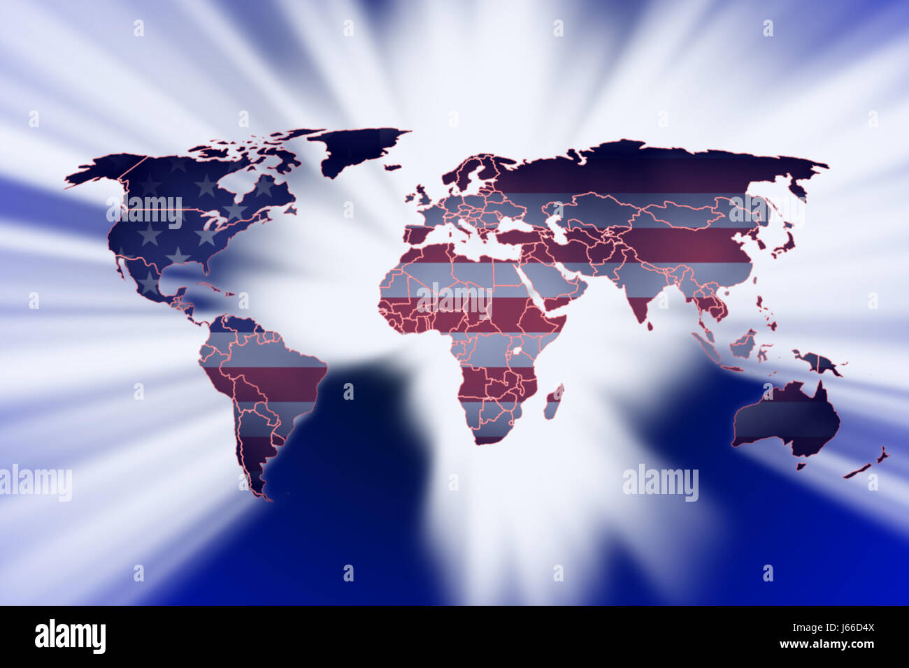 blue american usa flag globe planet earth world map atlas map of the world