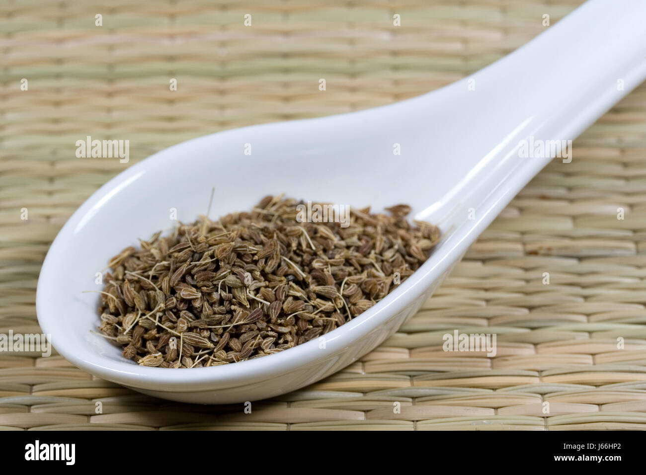 spice sweetish licorice cute anise food aliment spice brown brownish brunette Stock Photo