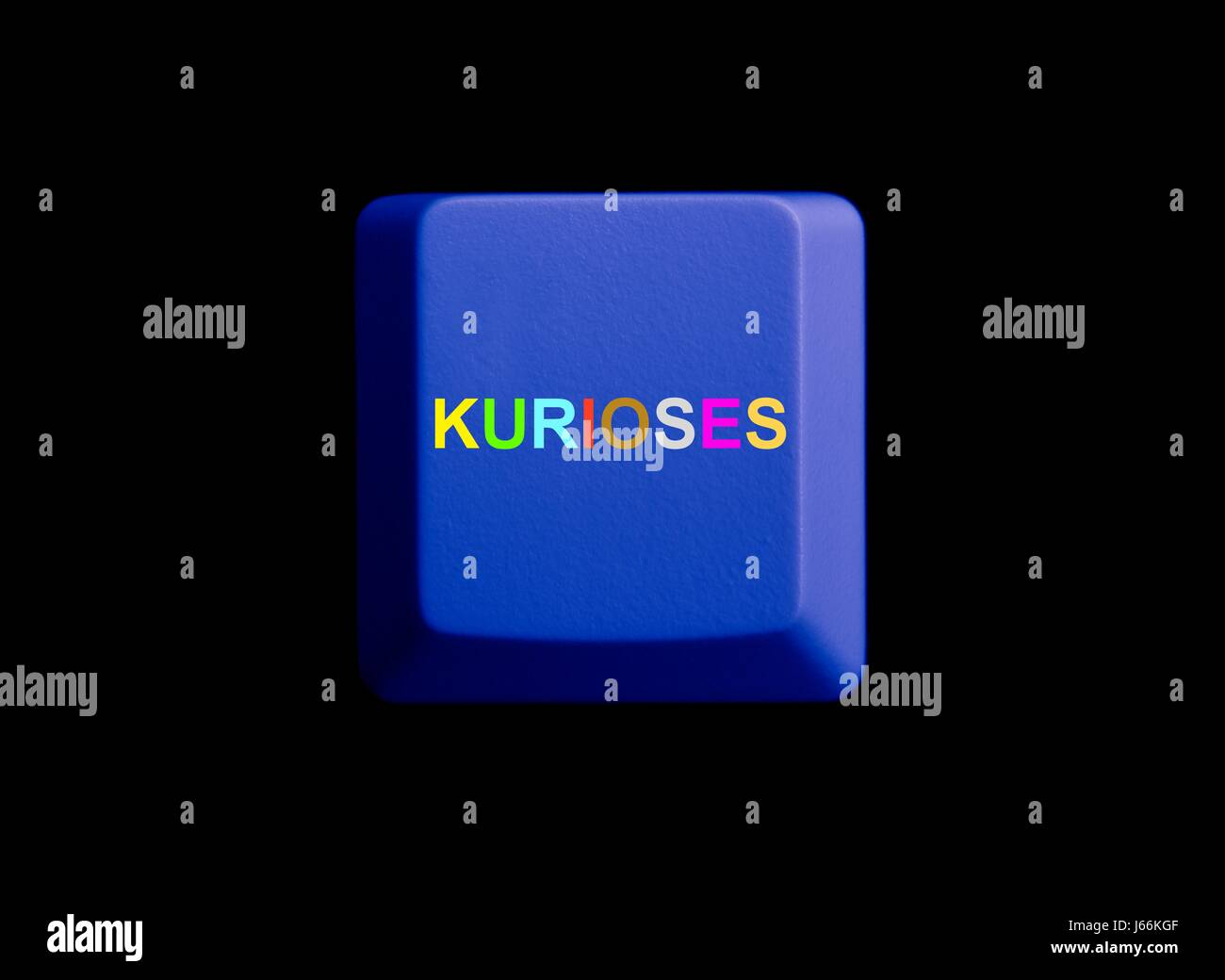 curiosities on the internet - Stock Image