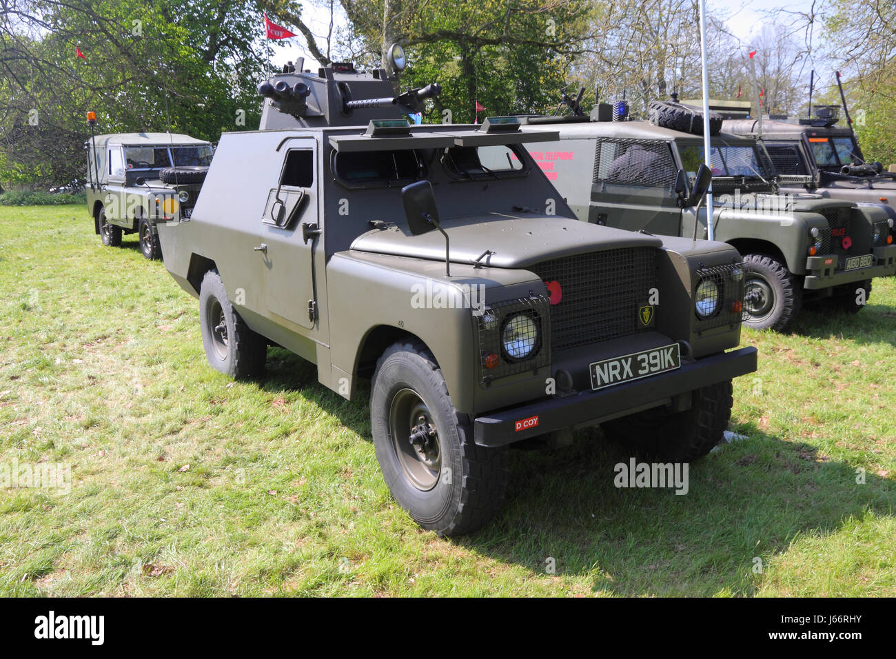 Armoured Vehicle Northern Ireland Stock Photos & Armoured