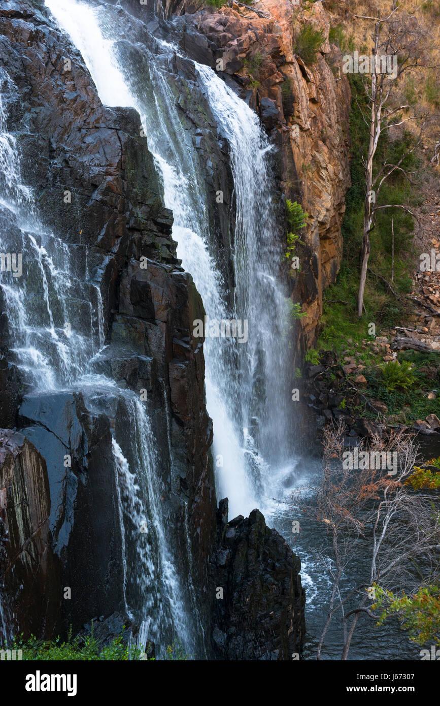 Mackenzie Falls, Grampian National Park, Victoria, Australia. - Stock Image