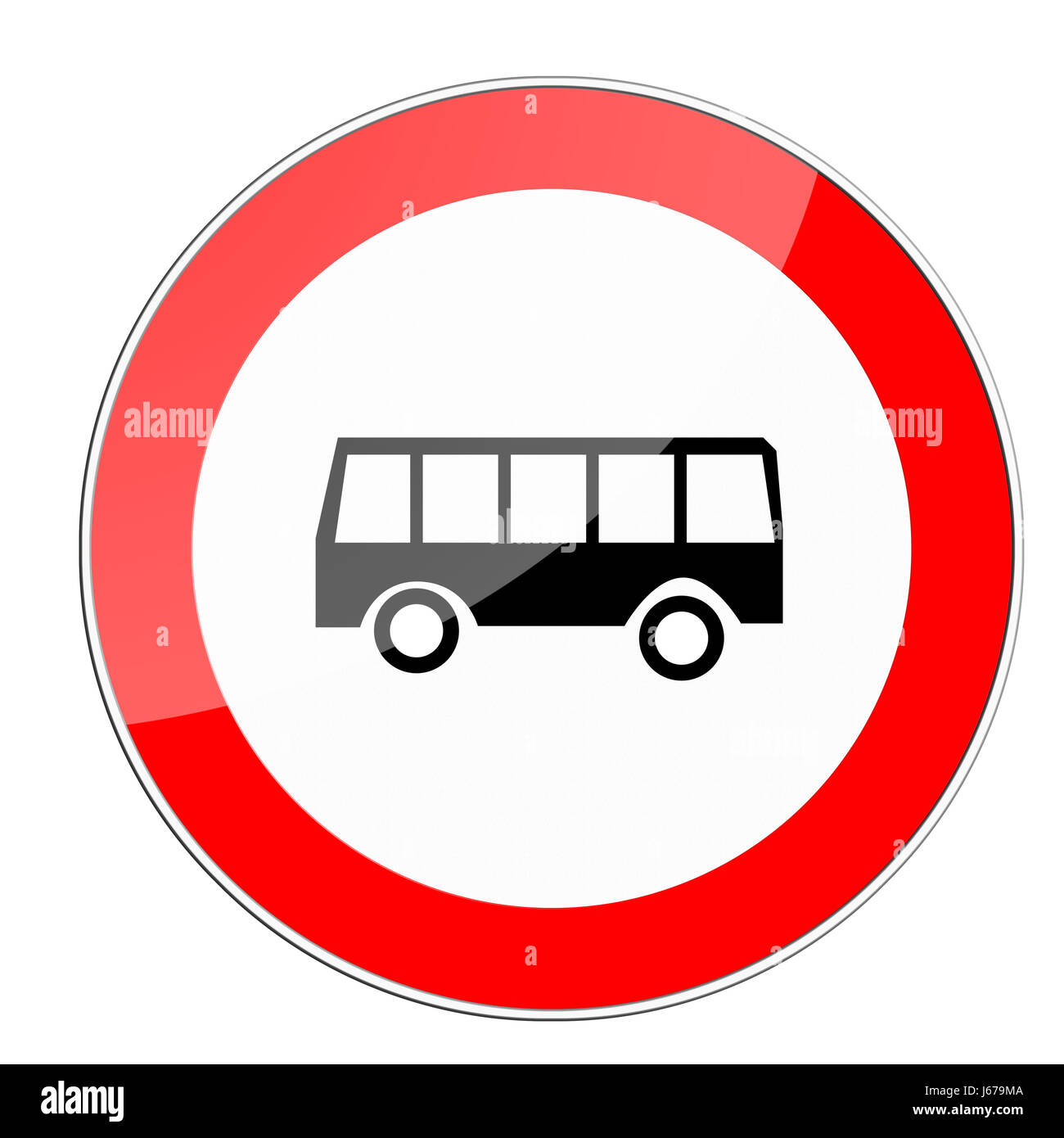 sign signal traffic sign buses vehicle means of travel bus omnibus