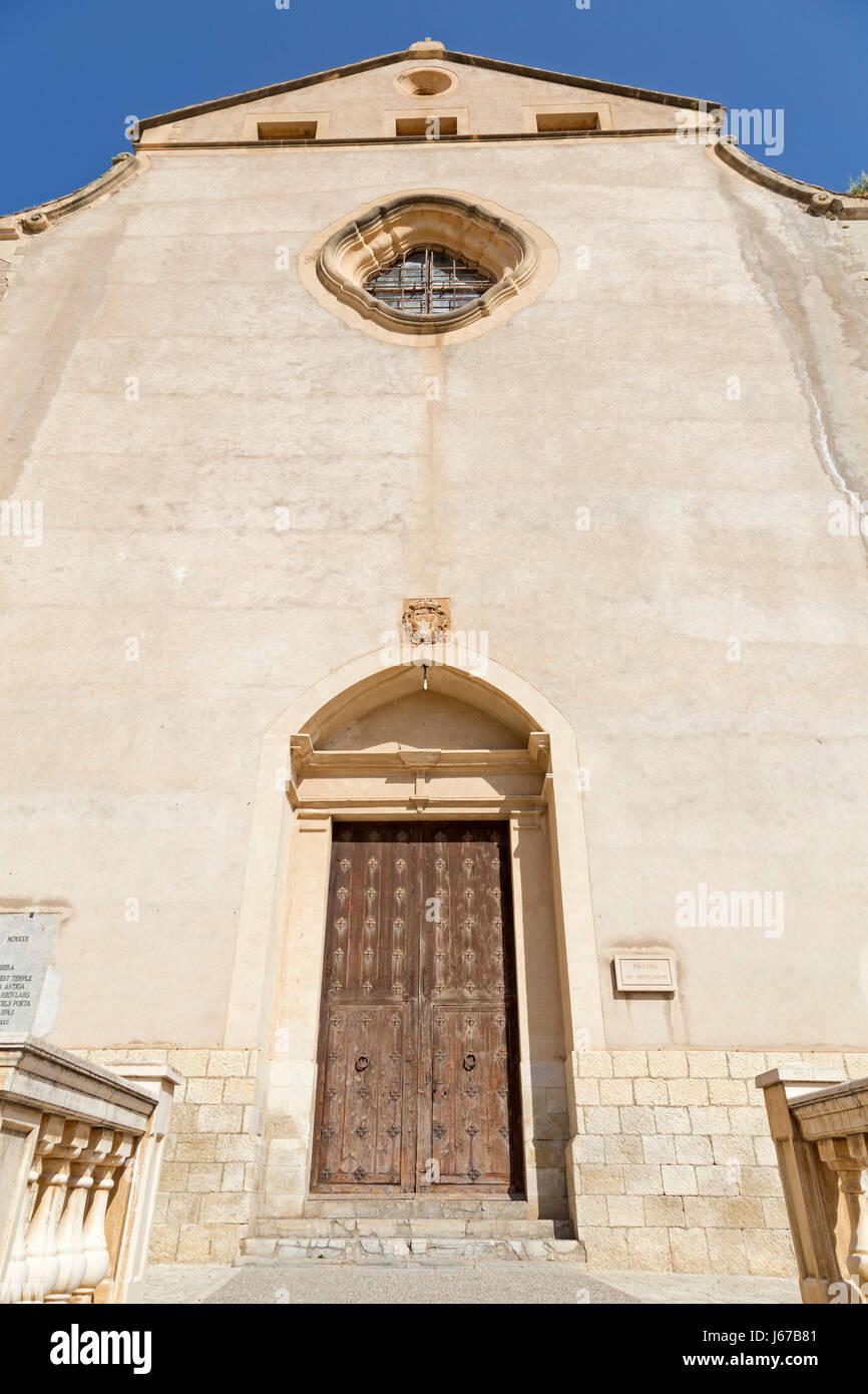 Esglesia de Monti-Sion in Pollenca, Majorca, Spain - Stock Image