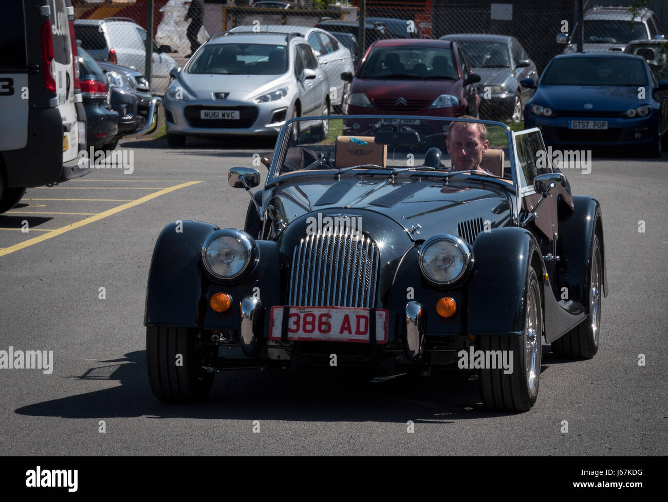 Morgan Motor Cars are still made in Malvern, England as they were in ...