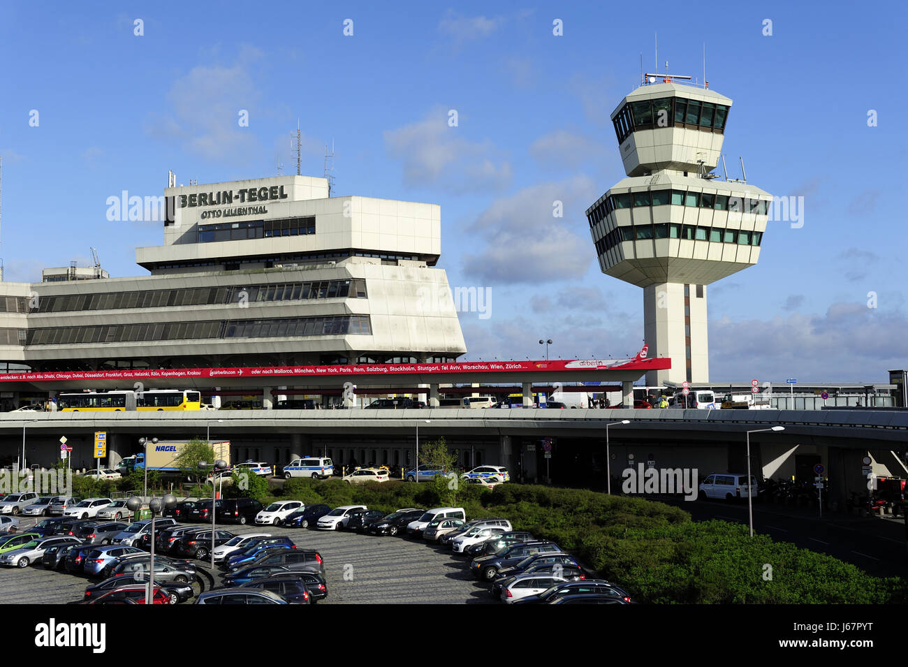 berlin, berlin-tegelairport, airports, architecture, area, areas, travel, - Stock Image