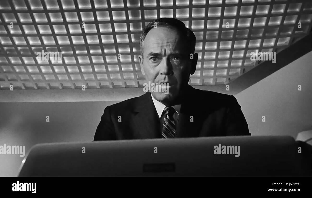 FAIL SAFE 1964 Columbia film with Henry Fonda as US President - Stock Image