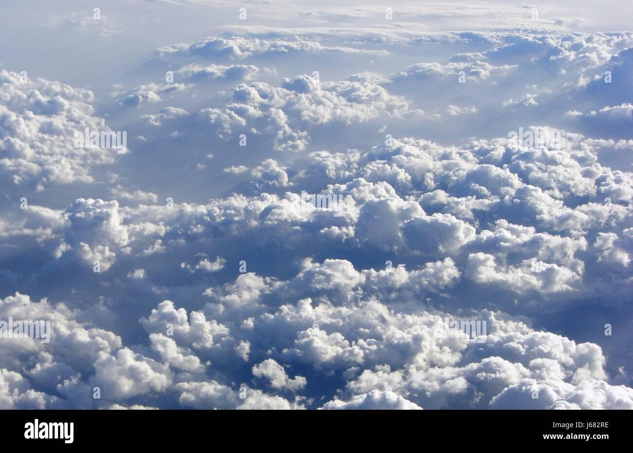 cloud field Stock Photo