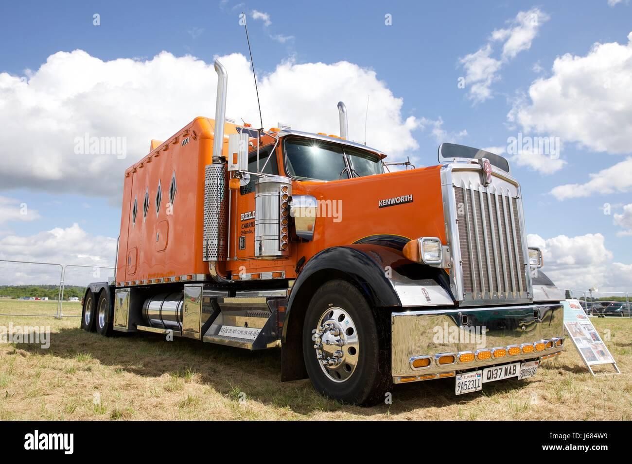 Kenworth Truck - Stock Image