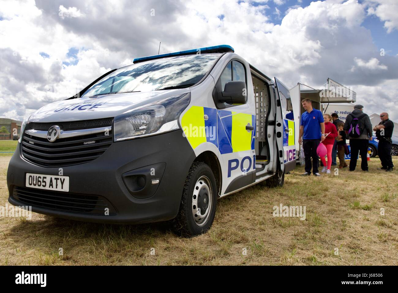 Thames Valley Police van - Stock Image