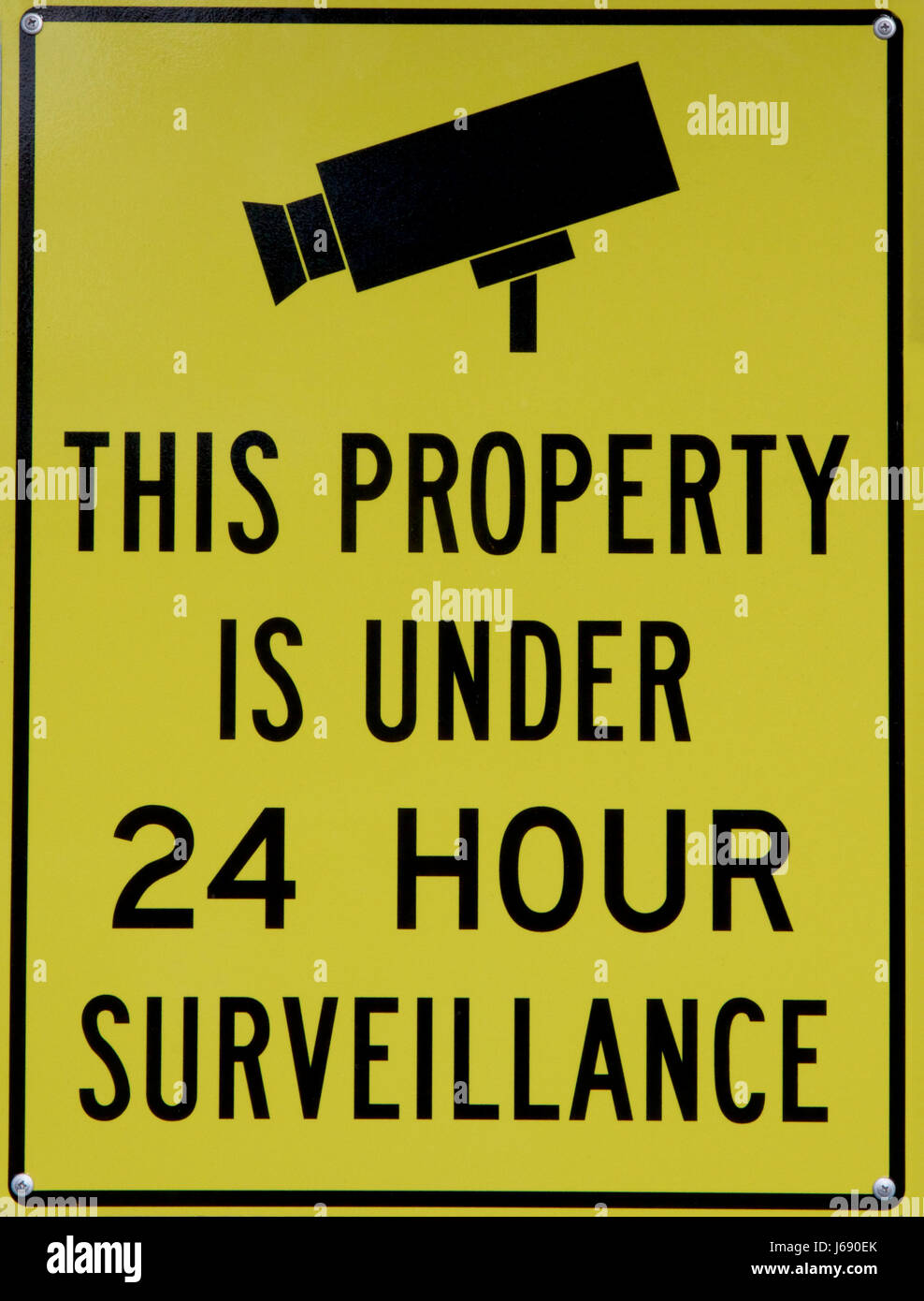 this property under video surveillance sign - HD 988×1390