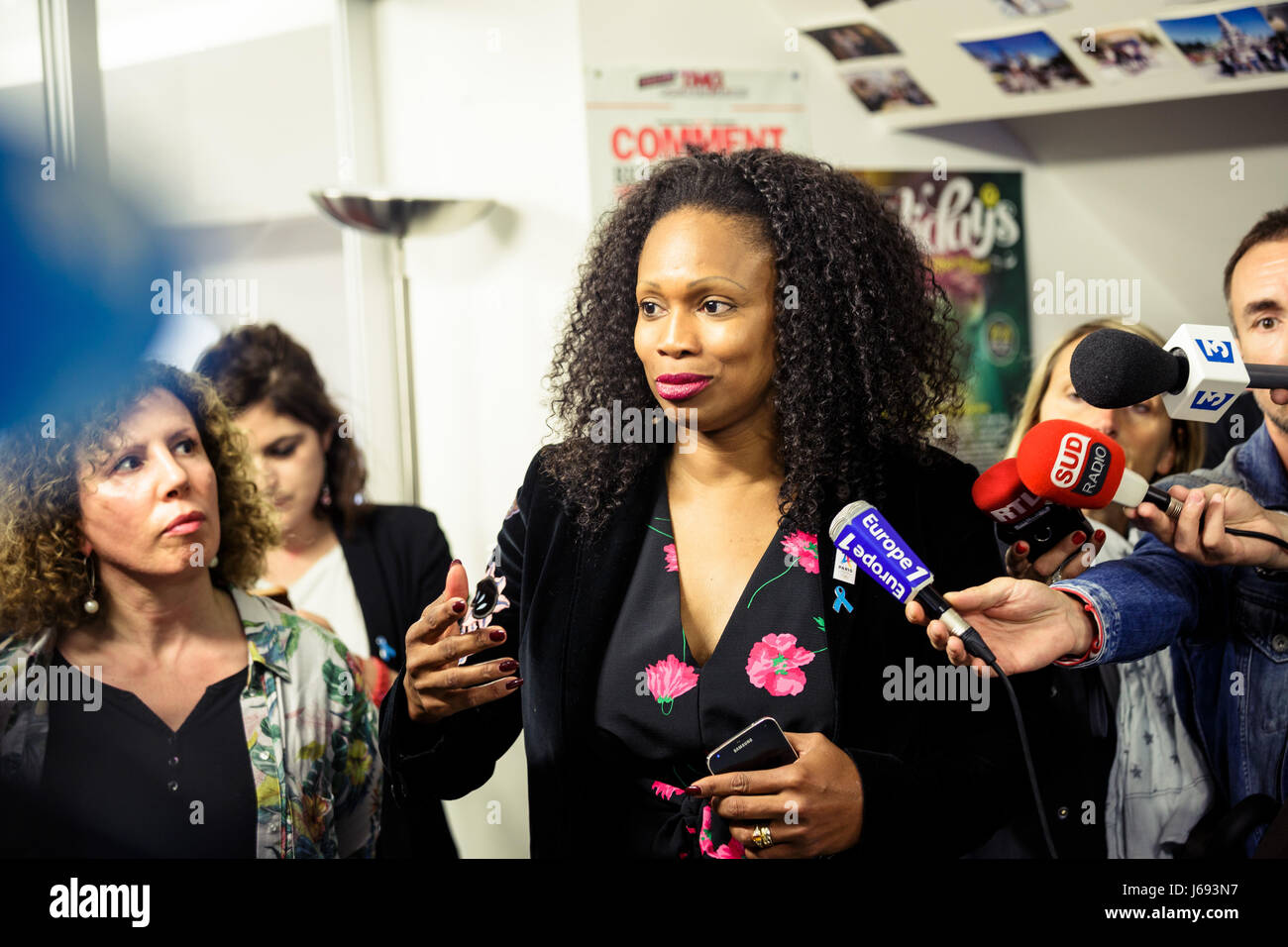 Paul Barlet / Le Pictorium -  Laura Flessel the new french minister of sport -  19/05/2017  -  France / Ile-de-France - Stock Image