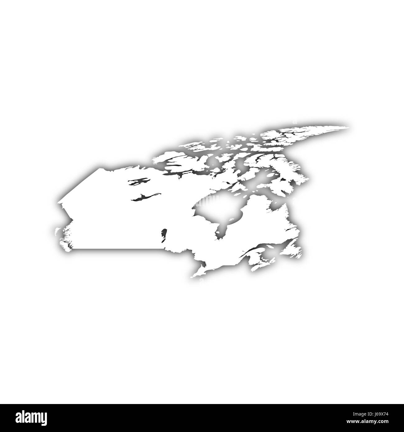 america canada flag north map atlas map of the world travel ...