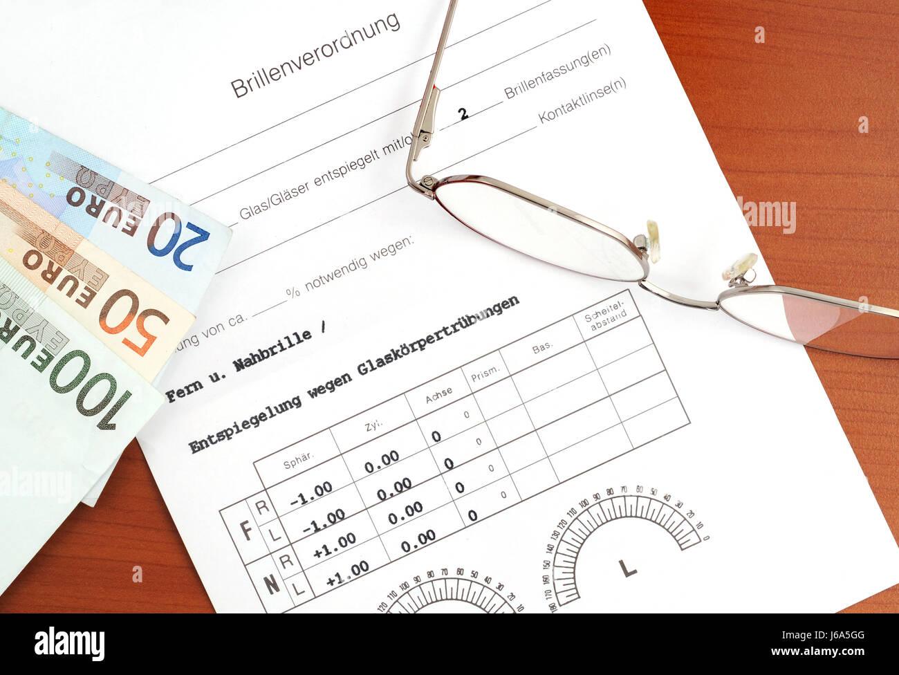 glasses regulation Stock Photo