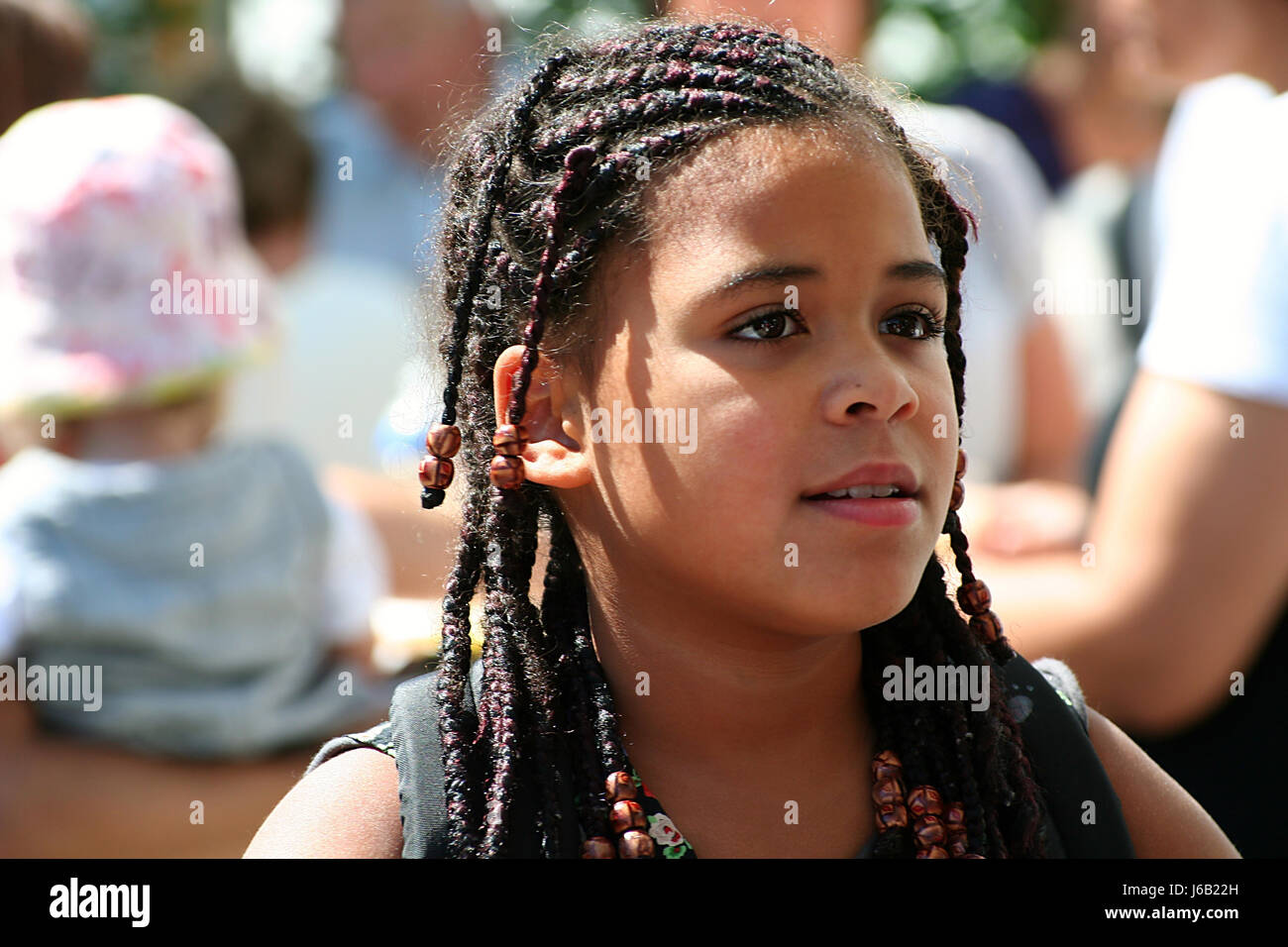 Teen Hairdo Plaited Braided Plaits Braids Girl Girls Teens