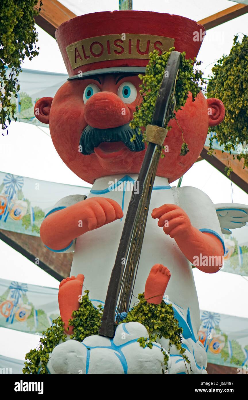 famous person bavaria munich personage personality mascot macro close-up macro - Stock Image