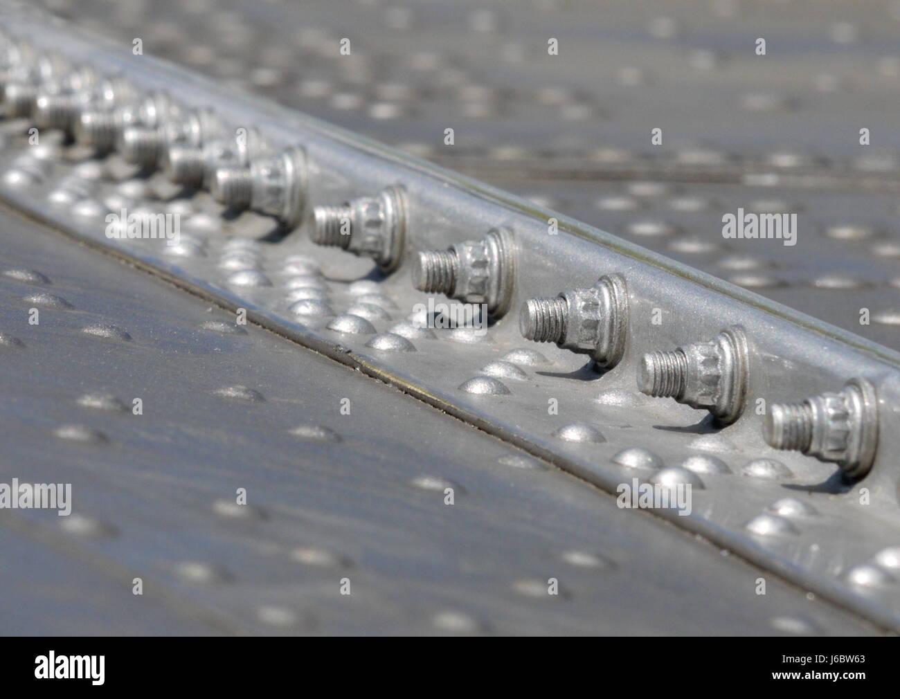 Aluminium Aircraft Wing Stock Photos & Aluminium Aircraft Wing Stock