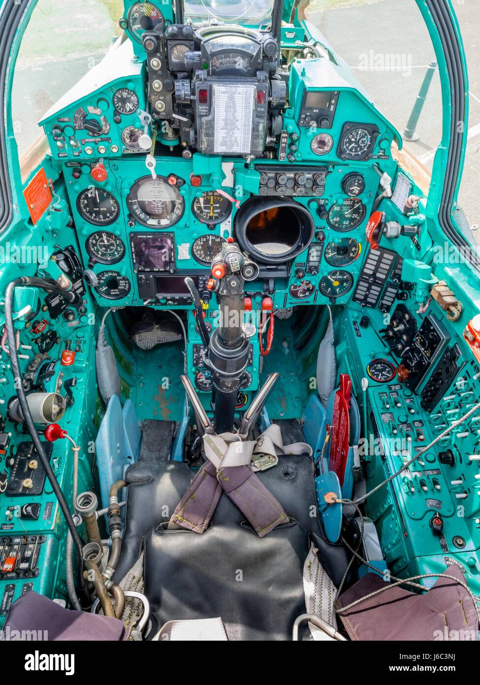 Mig 21 Cockpit Stock Photos & Mig 21 Cockpit Stock Images - Alamy