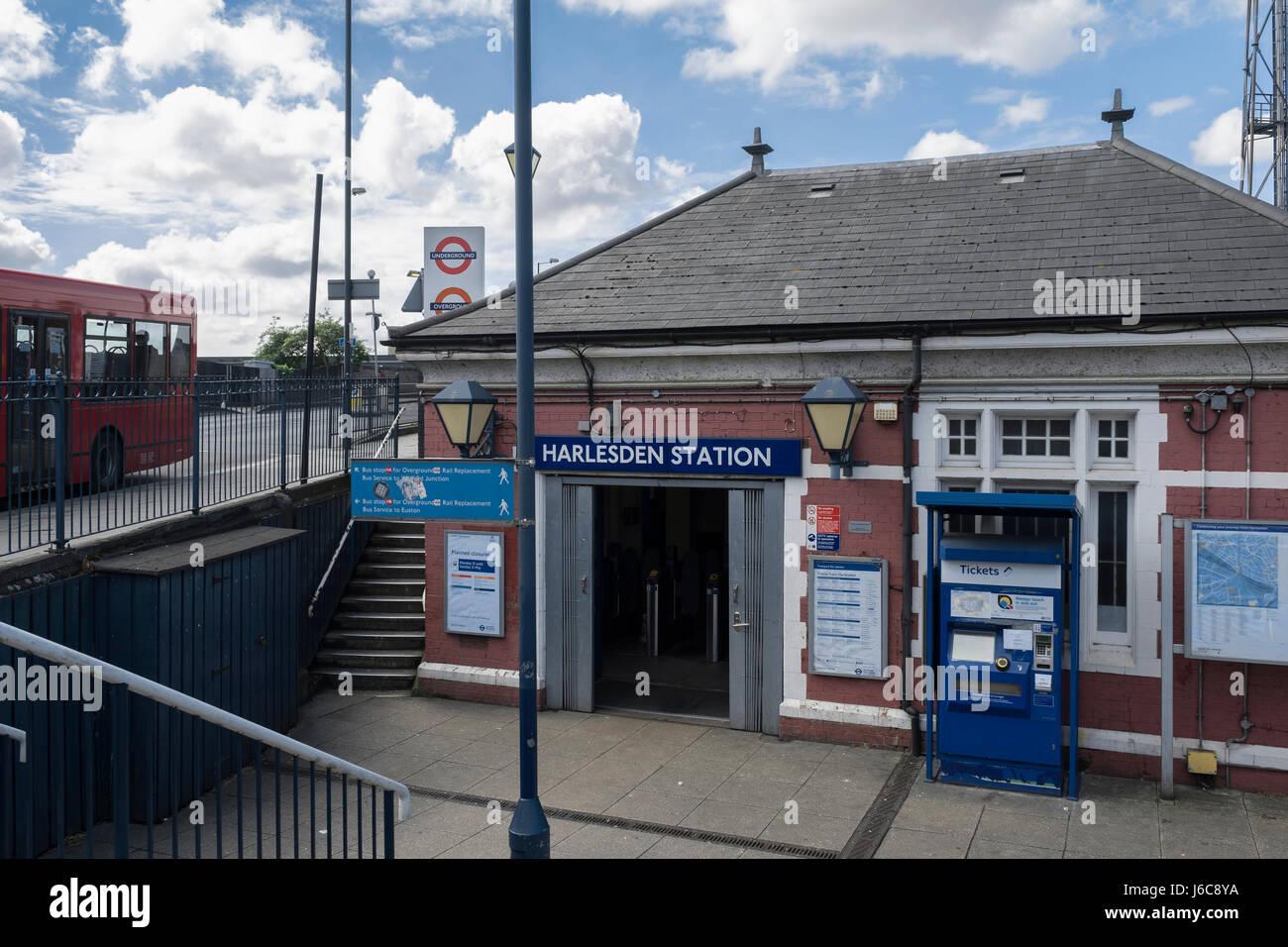 Harlesden station - Stock Image