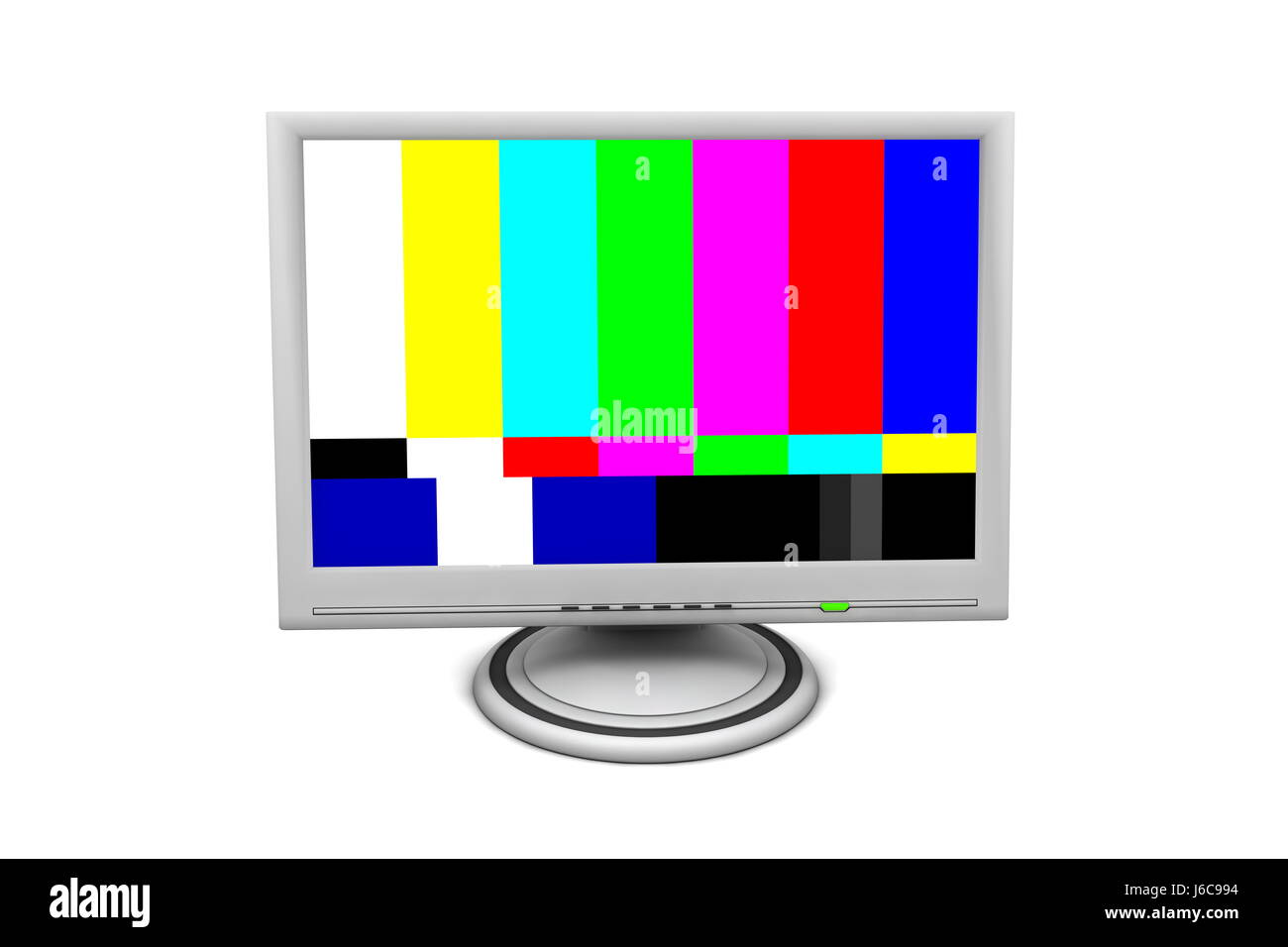 Colour Monitor Screen Television Tv Televisions Pattern Flat Test