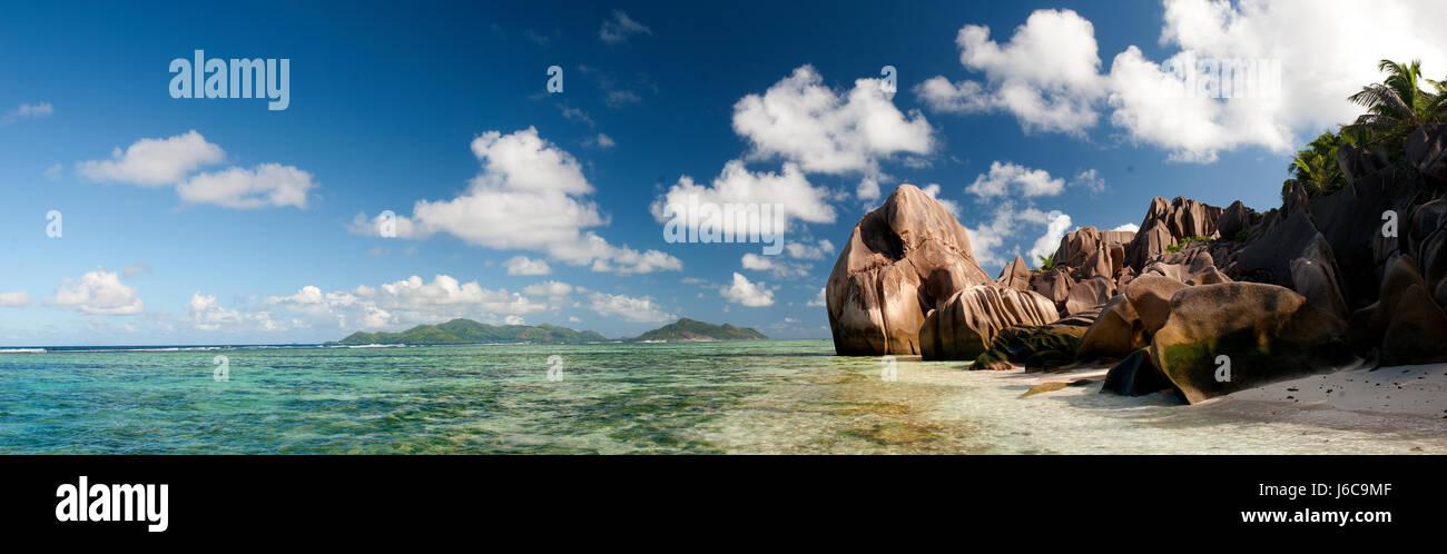 La Digue Island, Seychelles - Stock Image