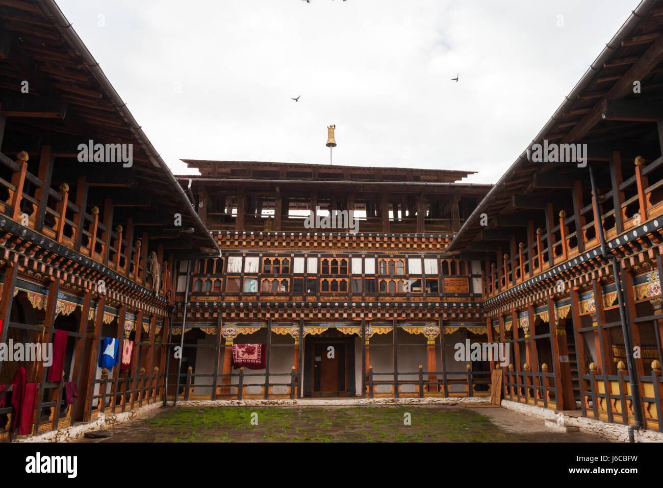 Bumthang in Bhutan - Stock Image