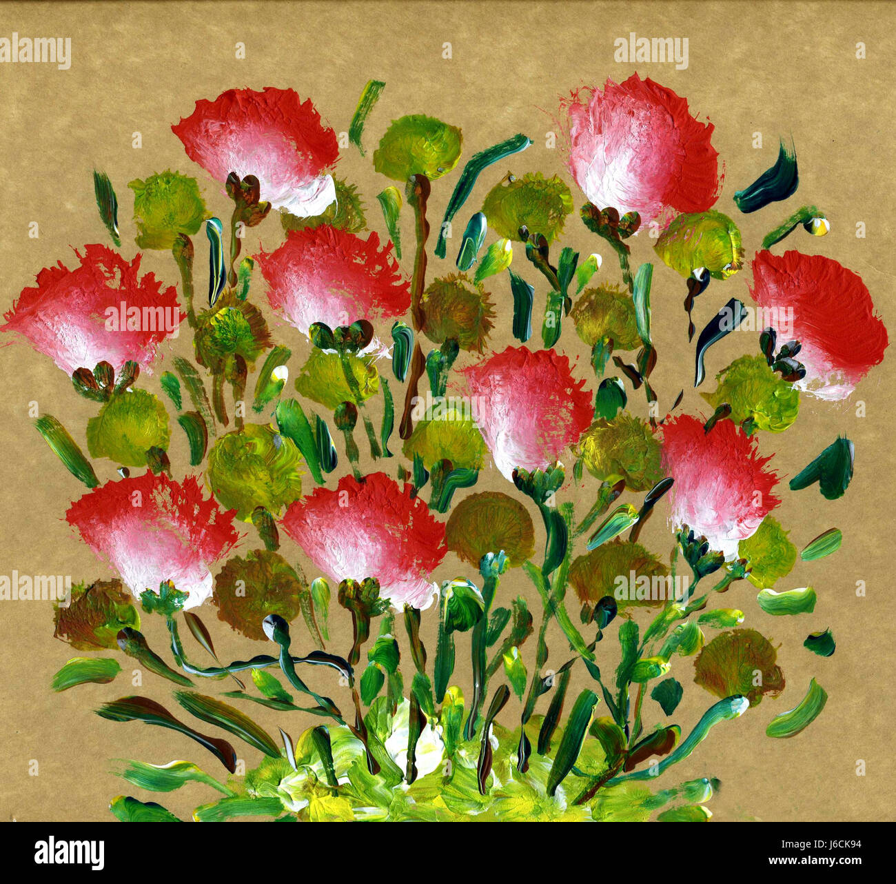 flower flowers plant hobby painting photo picture image copy Stock ...